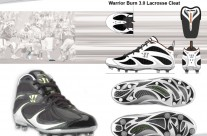 Warrior Burn 3.0 Lacrosse Cleat